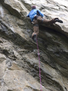 Hans Peter on the crux of Alkotest