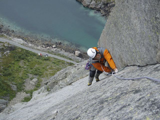 Chris on pitch 7
