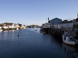 Henningsvaer, an island village