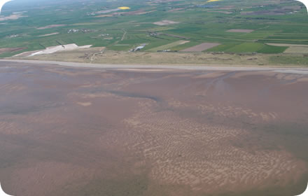 The Solway with sand patterns