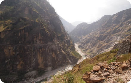 Sutlej river valley