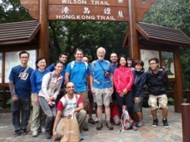 The team from Berghaus Asia