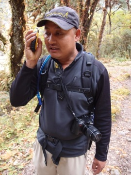 Our guide, Sonam