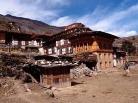The village of Laya