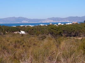 Gill and Dennis' home on the edge of L'Escala
