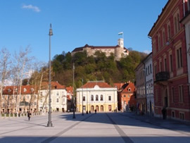 Ljubljana is a really lovely quiet city