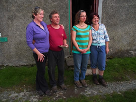 Martin and Marie, owners of Skiddaw House Hostel